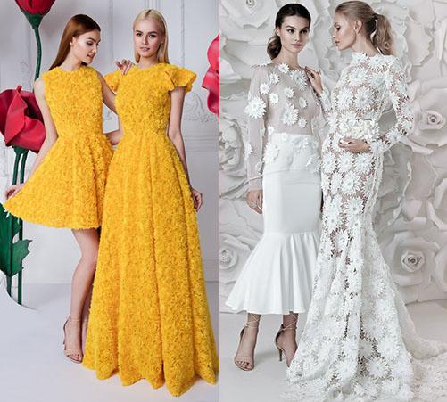 модные воздушные платья 2020-2021 фото моделей