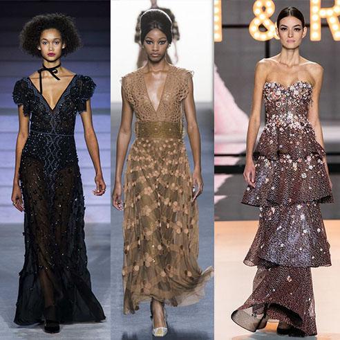 стильные вечерние блестящие платья 2020-2021 фото моделей