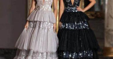 модные вечерние платья 2021 Новогодний образ