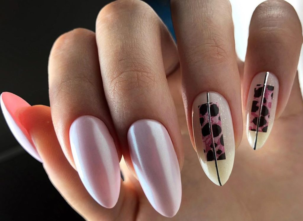 роскошный дизайн ногтей 2020-2021 в нюдовых тонах