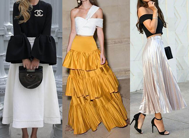 стильные платья 2020-2021 фото макси на новый год