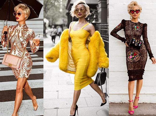 стильные платья 2020-2021 фото юбок карандаш