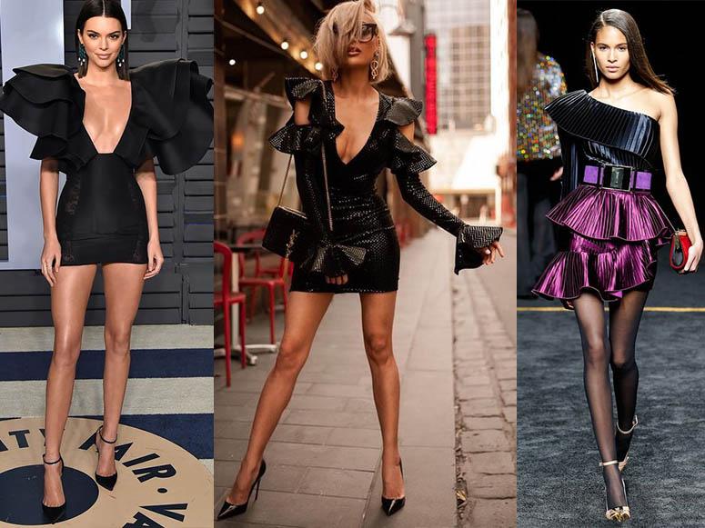 городские наряды платья модные девочки