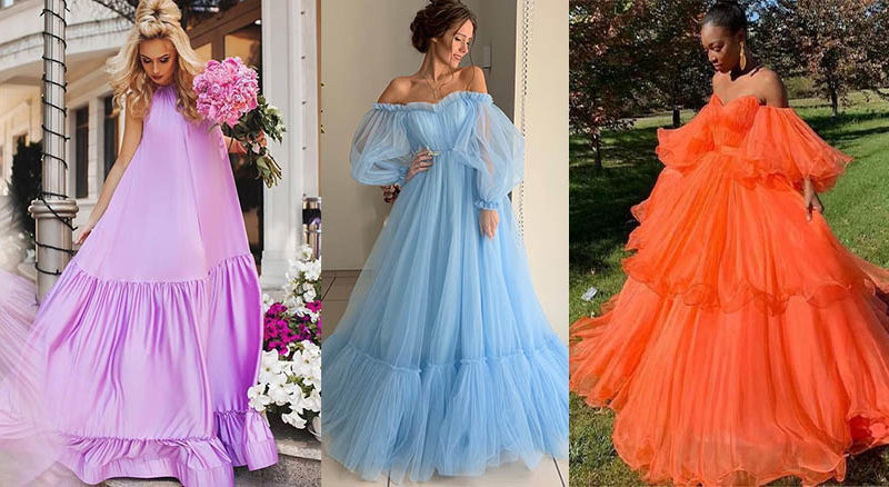 яркие летние платья 2020-2021