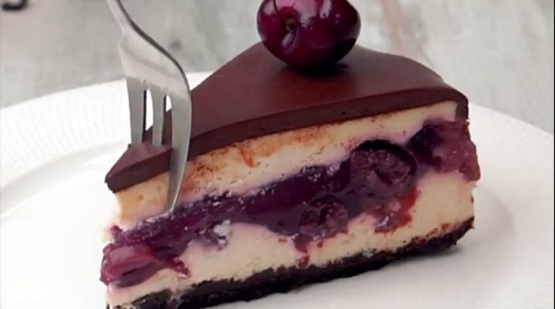 рецепты тортов из творога и вишни шварцвальд