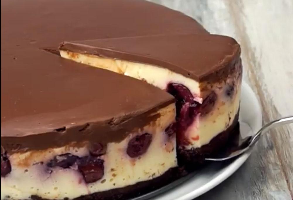 творожный пирог шварцвальд