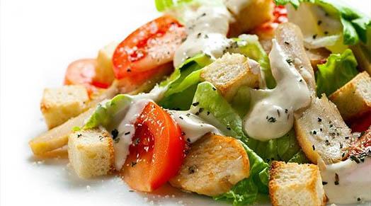 как приготовить салат цезарь классический соус