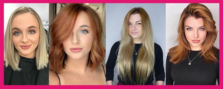 преображение до и после стрижки на рыжие волосы 2020-2021