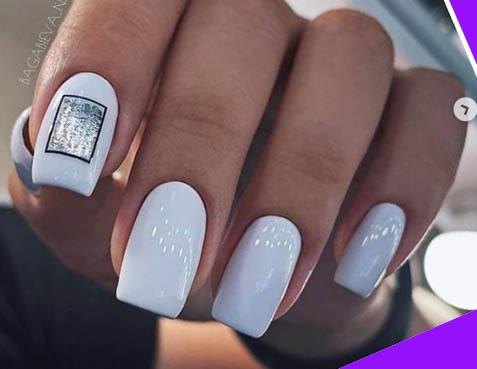 небесный дизайн ногтей печать