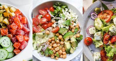 полезные салаты 2021 низкокалорийные продукты