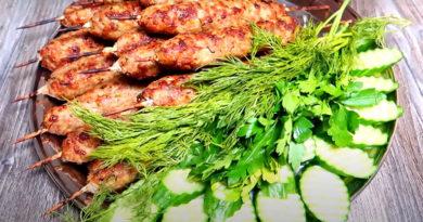 люля-кебаб в духовке из куриного фарша