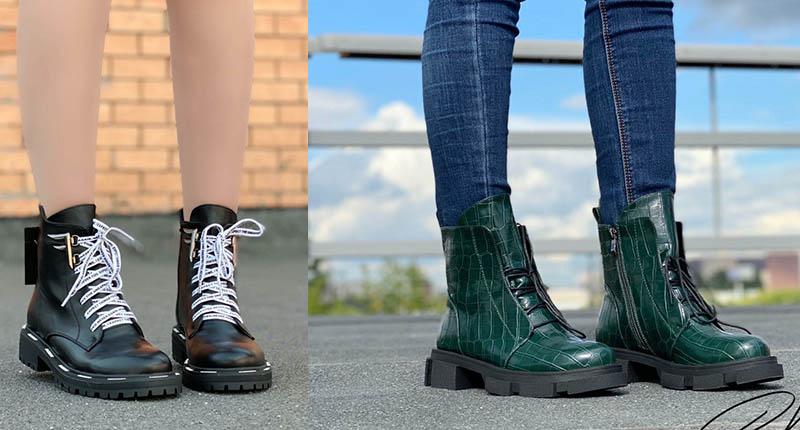 модные ботинки 2021 фото