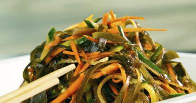 салаты из морской капусты три рецепта пп