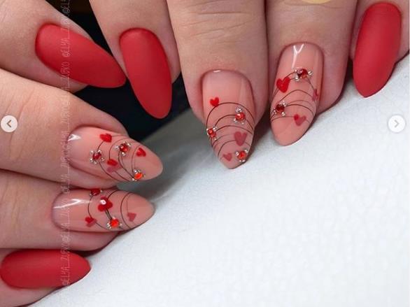 паутинка гель-лак идеи декора ногтей