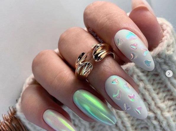 градиент ногти стиль нейл-арт 2022 фото