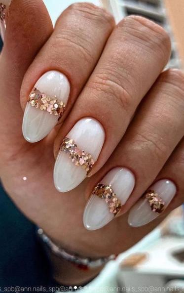 какие ногти в моде 2022 мастер класс декора ногтей