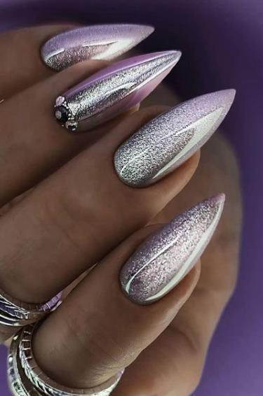 шикарный жизайн ногтей цвет нейл арт