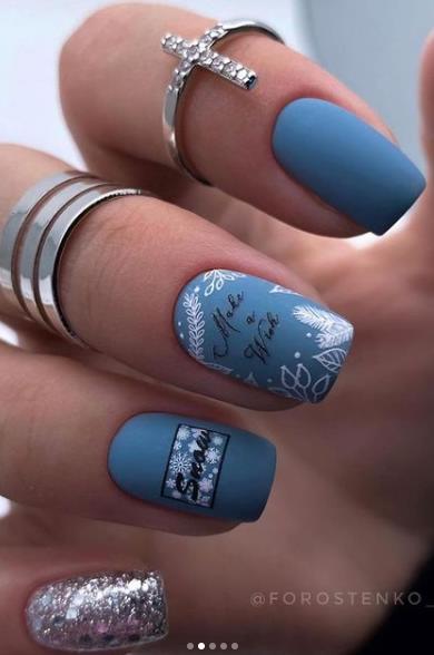 стильные идеи ногтей 2022