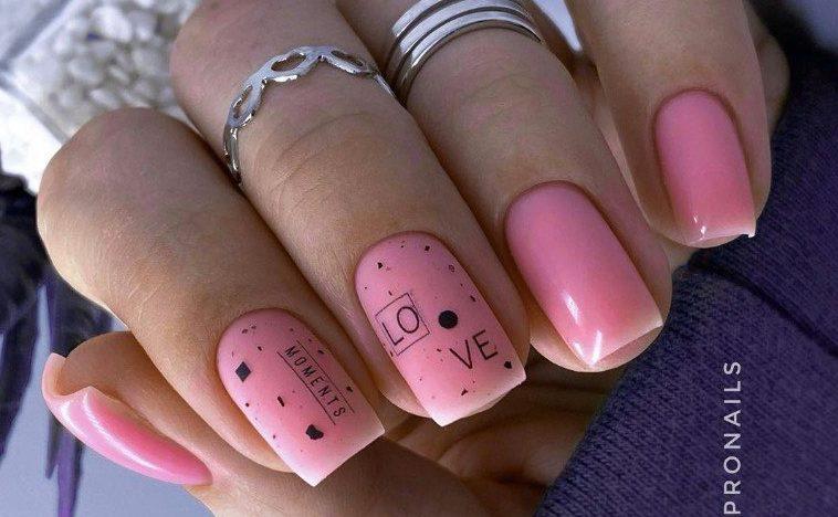 пудра ногти стильные идеи